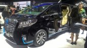 Toyota Alphard Hybrid at GIIAS 2017 front three quarters