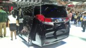 Toyota Alphard Hybrid at GIIAS 2017 left rear three quarters