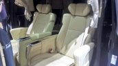 Toyota Alphard Hybrid at GIIAS 2017 middle row seats