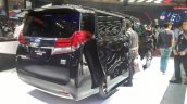 Toyota Alphard Hybrid at GIIAS 2017 right rear three quarters