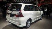 Toyota Avanza Limited Edition rear three quarter 2017 GIIAS Live