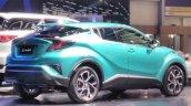 Toyota C-HR Hybrid rear three quarter at the 2017 GIIAS Live