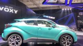 Toyota C-HR Hybrid side at the 2017 GIIAS Live