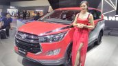 Toyota Innova Venturer with body graphics at GIIAS 2017 left front three quarters