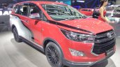 Toyota Innova Venturer with body graphics at GIIAS 2017 right front three quarters