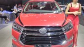 Toyota Innova Venturer with body graphics at GIIAS 2017 right front
