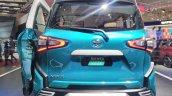Toyota Sienta Ezzy GIIAS 2017 Live Images rear view