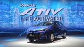 Toyota Yaris ATIV front three quarters left side