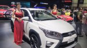 Toyota Yaris Heykers front three quarters left at the GIIAS 2017