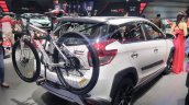 Toyota Yaris Heykers with bicycle at the GIIAS 2017
