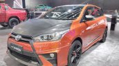 Toyota Yaris TRD Sportivo front three quarters at GIIAS 2017