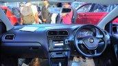 VW Polo GT TSI 'R' edition dashboard at Nepal Auto Show 2017