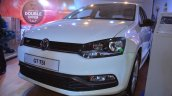 VW Polo GT TSI 'R' edition front three quarters at Nepal Auto Show 2017
