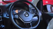 VW Polo GT TSI 'R' edition steering wheel at Nepal Auto Show 2017