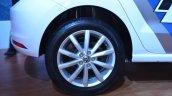 VW Polo GT TSI 'R' edition wheel at Nepal Auto Show 2017