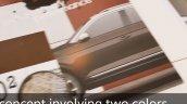 VW T-Roc brown-white colour scheme