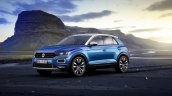 VW T-Roc front three quarters