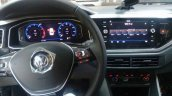 VW Virtus dashboard driver side spy shot Brazil