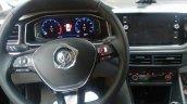 VW Virtus interior spy shot Brazil