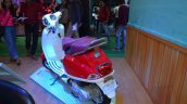 Vespa VXL 150 at Nepal Auto show front rear left quarter