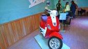 Vespa VXL 150 at Nepal Auto show front