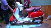 Vespa VXL 150 at Nepal Auto show left side