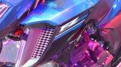 Yamaha FZ25 cowl at the Nepal Auto Show 2017