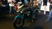 Yamaha Fazer 25 India launch cyan front left quarter