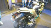Yamaha Fazer 25 India launch cyan rear right quarter