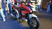 Yamaha Fazer 25 India launch red front right quarter