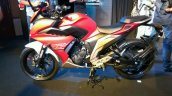 Yamaha Fazer 25 India launch red left side