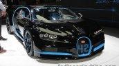0-400-0 world record Bugatti Chiron front three quarters at the IAA 2017