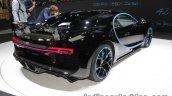 0-400-0 world record Bugatti Chiron rear three quarters at the IAA 2017