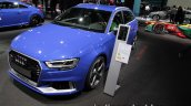 2017 Audi RS 3 Sportback front quarter at the IAA 2017