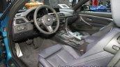 2017 BMW 4 Series Coupe (LCI) interior at the IAA 2017