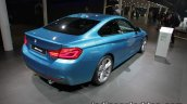 2017 BMW 4 Series Coupe (LCI) rear quarter at the IAA 2017