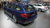 2017 BMW 5 Series Touring rear three quarters at the IAA 2017