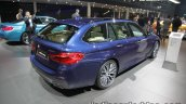 2017 BMW 5 Series Touring rear three quarters right side at the IAA 2017