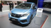 2017 Honda Jazz (facelift) front three quarters at the IAA 2017