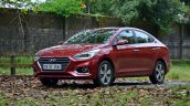 2017 Hyundai Verna front three quarters