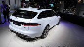 2017 Jaguar XF Sportbrake rear three quarters at the IAA 2017