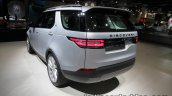 2017 Land Rover Discovery rear quarter at the IAA 2017