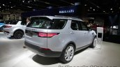 2017 Land Rover Discovery rear three quarter at the IAA 2017