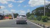 2017 Mahindra KUV100 (facelift) rear spy shot
