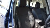 2017 Maruti S-Cross facelift front seats