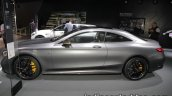 2017 Mercedes-AMG S 63 Coupe (facelift) profile at the IAA 2017