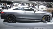 2017 Mercedes-AMG S 63 Coupe (facelift) right side at the IAA 2017