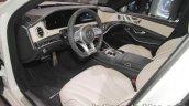2017 Mercedes-AMG S 63 dashboard at IAA 2017