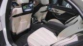 2017 Mercedes-AMG S 63 interior infotainment at IAA 2017