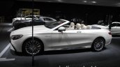 2017 Mercedes-AMG S 65 Cabriolet (facelift) profile at the IAA 2017